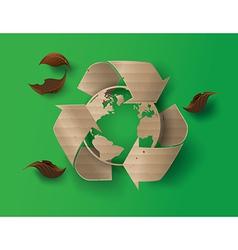 recyecle vector image