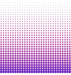 Halftone colorful pattern vector image vector image