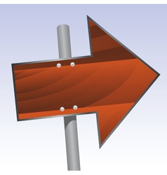 signpost vector image vector image