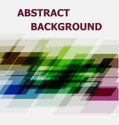 abstract geometric overlapping design background vector image