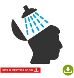 Brain Washing Eps Icon vector