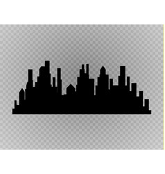 City skyline urban landscape vector