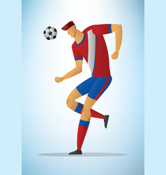 football player 23 vector image