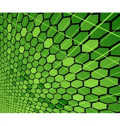 Modern cell background vector