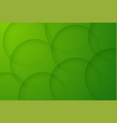Modern green backgrounds abstract 3d circle vector
