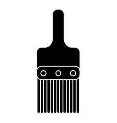 paint brush tool design pictogram vector image
