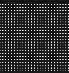 polka dot pattern seamless texture black white vector image