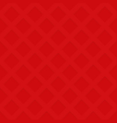 Red repeating cutout square pattern texture vector