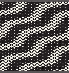 Repeating rectangle halftone modern geometric vector