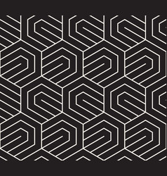 Seamless pattern repeating elements abstract vector