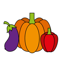 vegetables food health vector image