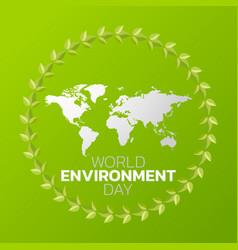 world environment day logo icon design vector image
