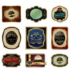 label frame vector image vector image