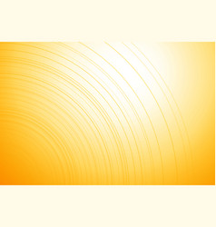 bright yellow background with thin lines vector image