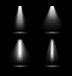creative of bright lighting vector image