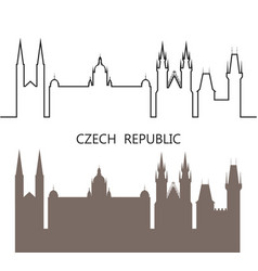 Czech republic vector