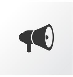 horn icon symbol premium quality isolated vector image