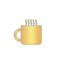 Hot cup computer symbol vector