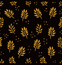 seamless floral pattern fashion textile pattern vector image