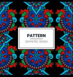 Turkish seamless pattern vector