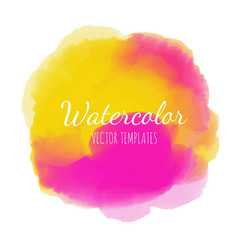 watercolor background2 vector image