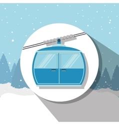 Winter sport and wear accesories vector