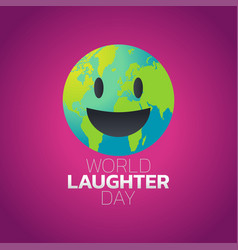 World laughter day icon design vector