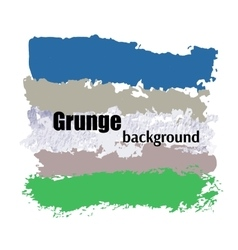 Set of color grunge lines Splash abstract grunge vector image