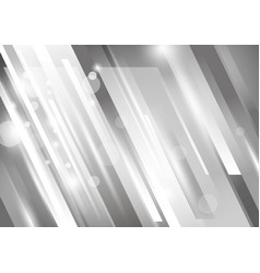Abstract modern background design silver to vector