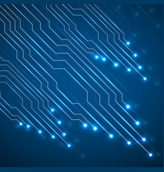 Abstract technology circuit board vector
