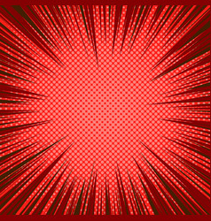 Comic red abstract background vector