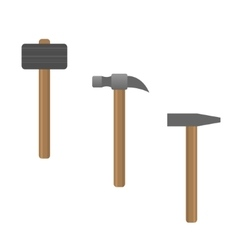 Hammer set vector
