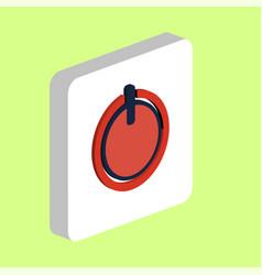 Power button computer symbol vector