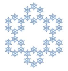 Snowflake flake snow vector