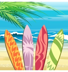Surf Time vector image
