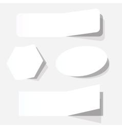 advertising coupon set vector image