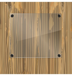 bolted glass vector image vector image
