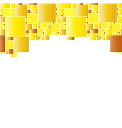 Abstract background with plenty gradient squares vector image