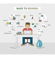E-learning and back to school of vector