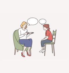 education development communication vector image