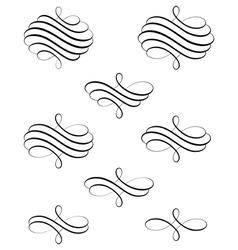 Helical Swirl vector image