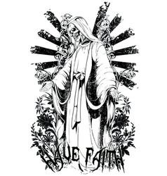 keep faith vector image