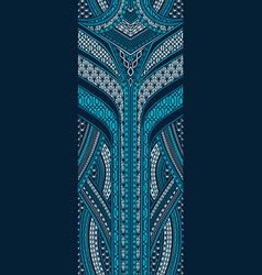 Pattern in art deco style vector
