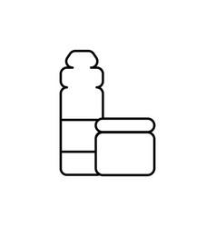 proteins icon vector image
