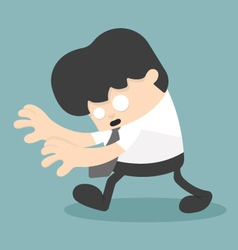 Business unconscious vector image
