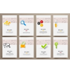 Design template blank booklets in graphics vector image vector image