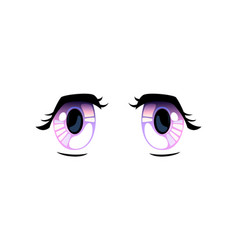 bright violet eyes beautiful eyes with light vector image