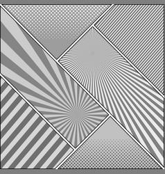 comic book monochrome diagonal background vector image