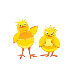 funny chicken vector image