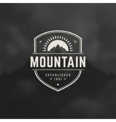 Mountain Design Element vector